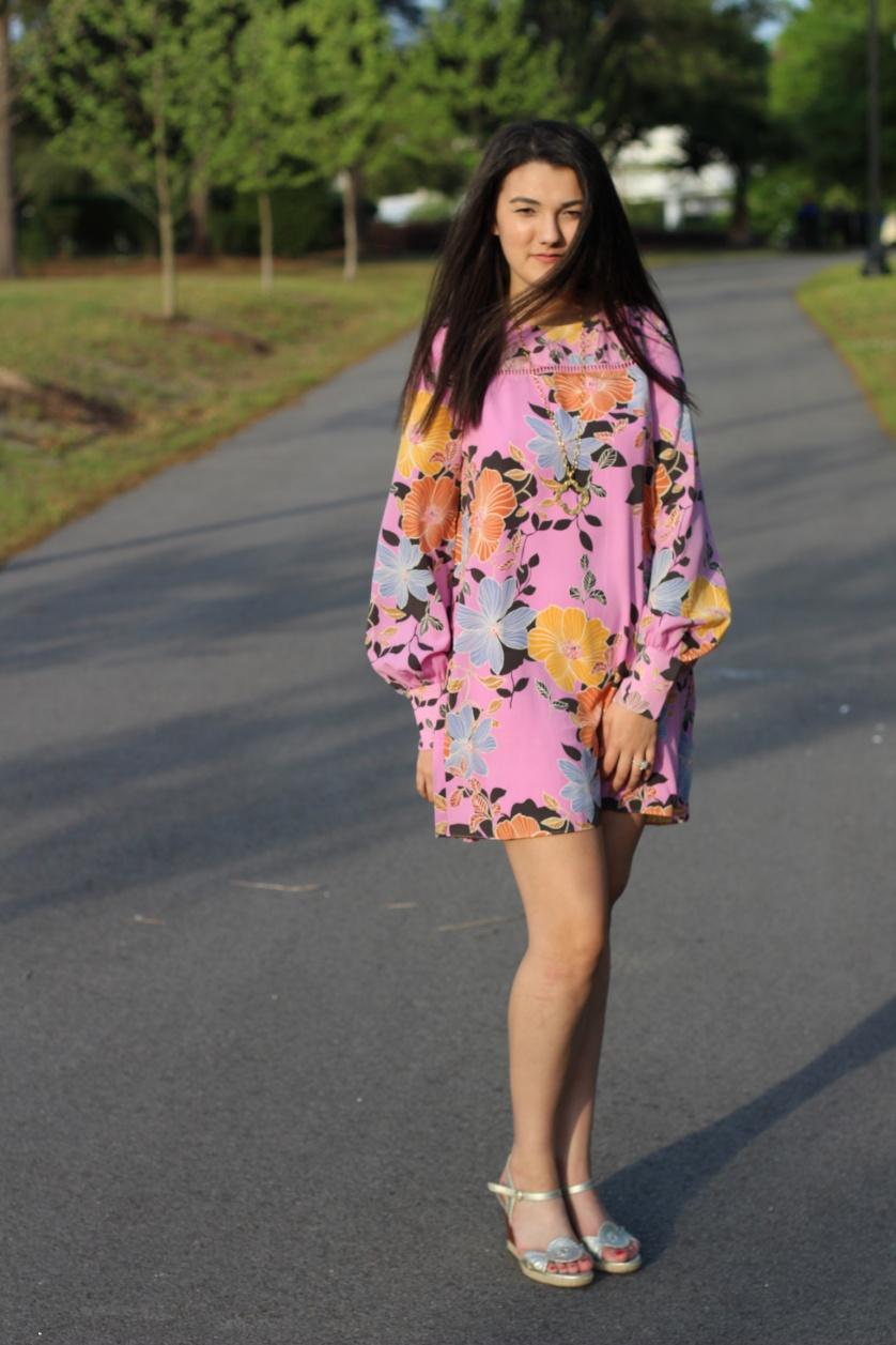 lilac dress 3