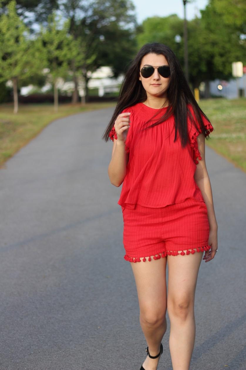 red romper 1